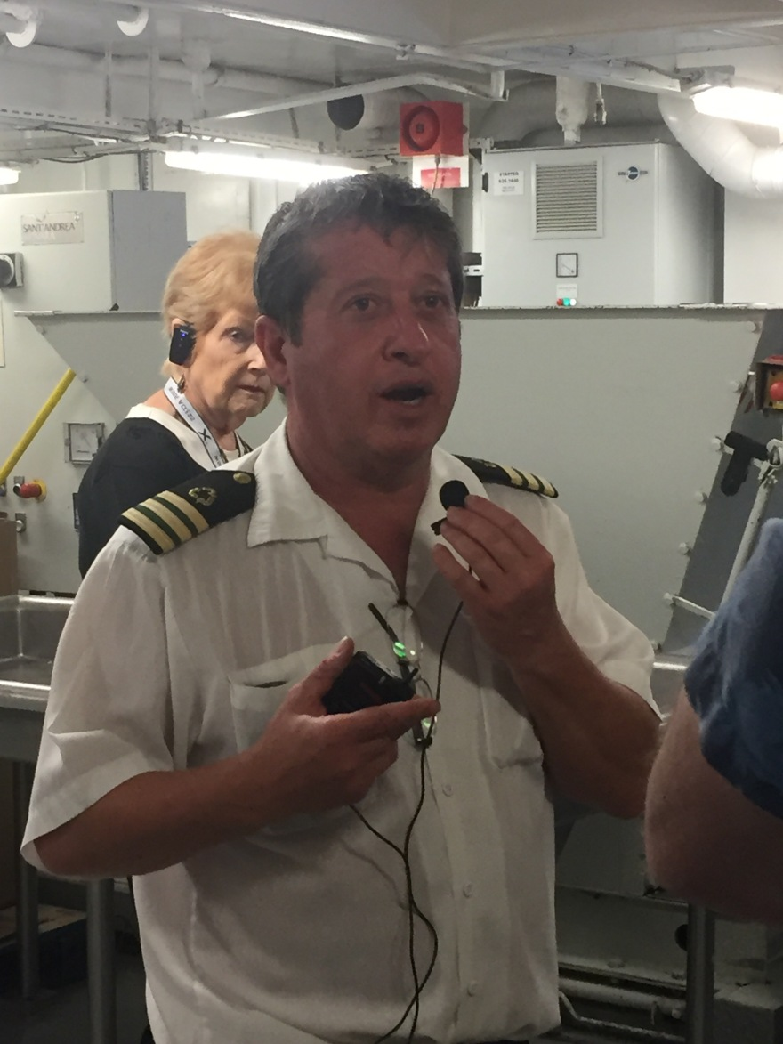 Inside A Cruise Ship Engine Room: Southern Caribbean Cruise 2017